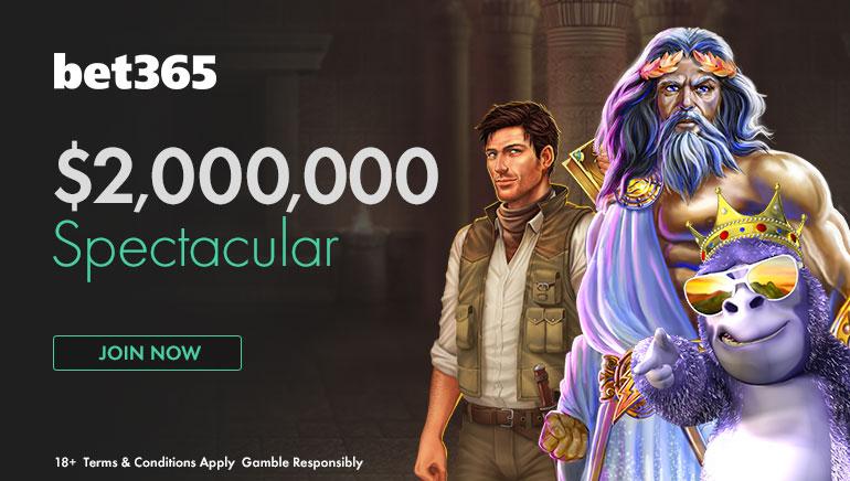 Osvojite 60.000 u Bet365's $2,000,000 Spectacular Promociji