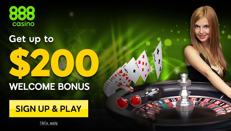 Igrači će uživati u fantastičnim igrama i bonusu dobrodošlice u 888 Casino