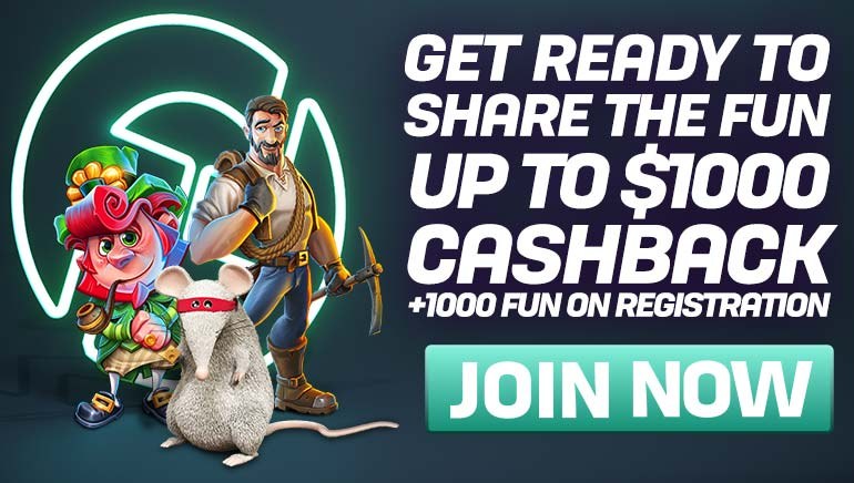 Izuzetni Cashback bonus i FUN vas čekaju u CasinoFair