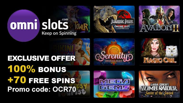 Preuzmite besplatnih 70 spinova u Omni Slots Casino sa OCR Exclusive