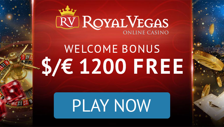 Welcome bonus of €/$1200 free