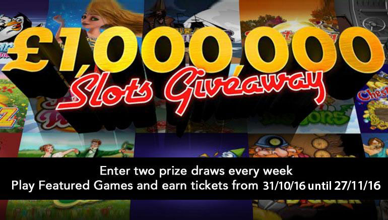 Osvojite bogatstvo u bet365 £/$1,000,000 slot nagradnoj igri ovog studenog!