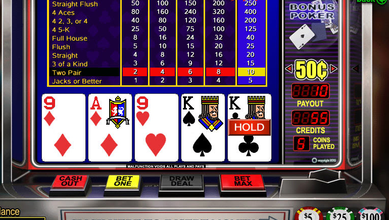 Besplatni online video poker